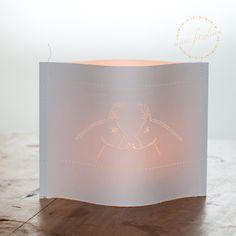 Laternen - Windlicht-Lichthülle-Esel - ein Designerstück von Fitzeleien bei DaWanda