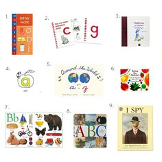 Alphabet Books - Montessori, Sandpaper, Tactile and Others