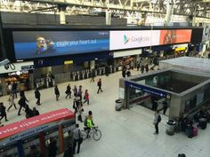 @Google Play . looking fantastic on Europe's largest indoor screen.  @TalonOOH @JCDecaux_UK @OMD_UK  #talonspotters pic.twitter.com/iXiS73dY9P