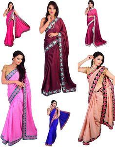 Shop #online for fashionable crepe #jacquard #saree only at sairandhri.com #sareemanufacturersinindia #indiansareestore