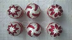Image result for falošný patchwork vianočné gule