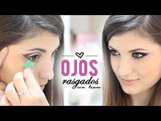 Ojos rasgados Maquillaje