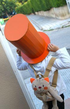 DIY cardboard top hat tutorial