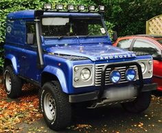 // Land Rover Blue