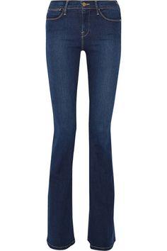 Estilo de jeans para oficina y toda figura.  Frame Denim