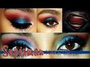 Superman eye makeup! Found one!!! @Lexi Pixel Fuller  @Joanna Szewczyk Gierak Topham
