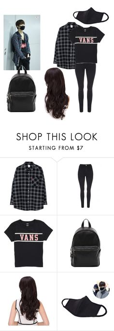 """""""Nakamoto Yuta"""" by infinitae ❤ liked on Polyvore featuring Jane Norman, Vans and French Connection"""