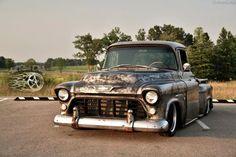 Bagged Trucks, Gm Trucks, Cool Trucks, Chevy Trucks, Pickup Trucks, Chevy Pickups, Custom Trucks, Custom Cars, 1956 F100