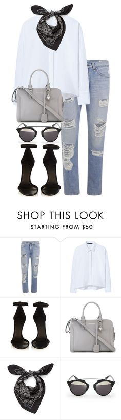 """""""Untitled #2656"""" by elenaday ❤ liked on Polyvore featuring rag & bone, Zara, Isabel Marant, Alexander McQueen and Christian Dior"""