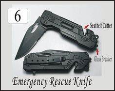 6 pcs Wedding Groomsmen Groomsman Gifts Personalized Engraved Black Rescue Pocket Hunting Knives on Etsy, $102.00