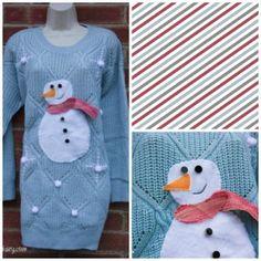 Snowman DIY Christmas Jumper