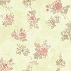 Baton Rouge NV6089 Vintage Rose Wallpaper