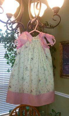 Dainty Pillowcase dress size 18 months in by SKYJAMCREATIONS, $17.00