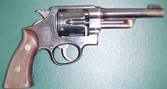 Smith & Wesson Model M1917 - second model N frame .357 Magnum revolver