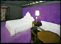 """An homage to """"The Gobbler Motel"""" in Wisconsin... no longer with us but a design disaster relic from the 1950's-60s.  Enjoy the photo tour of the entire site at the Institute of Good Cheer (with commentary)."""