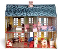 Doll House and Furnishings. 1952