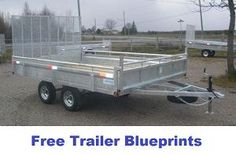 free trailer blueprints