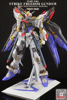 GUNDAM GUY: PG 1/60 Strike Freedom Gundam - Customized Build