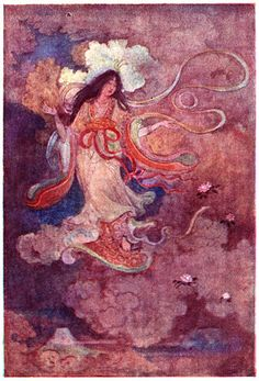 sengen sama Is The shinto goddess of Fuji-Yama - SHE is also the princess who makes the cherry tree blossom and lives in a cloud in the volcano. She gave birth to the ancestors of the Emperor