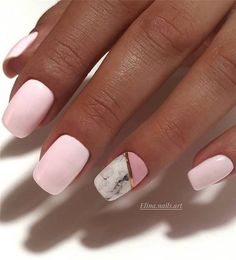 80 + Latest Nail Art Trends & Ideas to Try for Spring 2019 - Page 65 of 85 - Soflyme Latest Nail Designs, Cute Nail Art Designs, Latest Nail Art, Pink Nails, My Nails, Cute Nails, Pretty Nails, Manicure, American Nails
