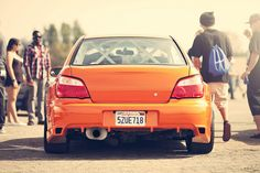 #Orange #IMPREZA #SUBARU Check out #Rvinyl for the best #JDM #Accessories & Parts