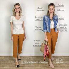 Fall Fashion Outfits, Mode Outfits, Short Girl Fashion, Womens Fashion, Classic Outfits, Casual Outfits, Moda Plus Size, Thrift Fashion, Fashion Advice