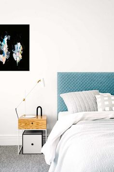 white-bedroom-quilted-bedhead-timber-side-table-may15