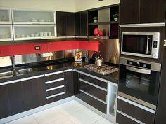 #linea3 #cocinas #Puertas de cocina #diseño de cocina #polilaminadas