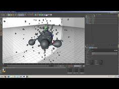 Using Displacer With Meta Balls | Cinema 4D Animation Tutorial - YouTube
