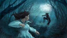 Snow White in the Dark Forest by atma33.deviantart.com on @deviantART