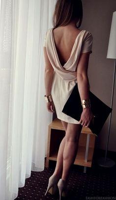 Elegant low cut