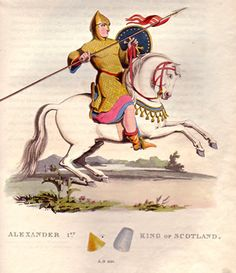 King Alexander I of Scotland--died 1124AD