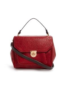 Image 1 of Oasis Red Top Handle Cross Body Bag