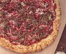 American Lamb Pizza Recipe Bank from PMQ Pizza Magazine Dried Basil Leaves, Oregano Leaves, How To Dry Oregano, How To Dry Basil, Gourmet Pizza Recipes, Crushed Red Pepper, Pizza Bake, Plum Tomatoes, Fennel Seeds