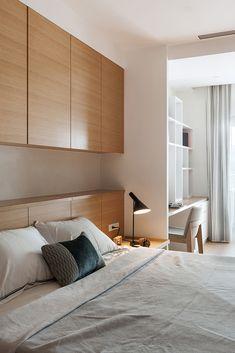 Ineffable Guest bedroom remodel benches,Remodel bedroom furniture and Tiny bedroom remodel. Bedroom Closet Design, Small Bedroom Designs, Home Room Design, Home Decor Bedroom, Modern Bedroom, Master Bedroom, Ikea Bedroom, Bedroom Ideas, Small Bedroom Storage