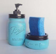 Mason Jar Kitchen Decor Half Gallon Utensil Holder Mason Jar Utensil Holder Kitchen