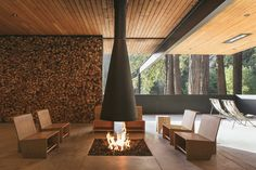 Anacapa Architecture creates AutoCamp glamping resort in northern California Luxury Glamping, Luxury Tents, Outdoor Sinks, Indoor Outdoor, Surf Lodge, Country Hotel, Living Room Inspiration, Design Inspiration, Design Ideas