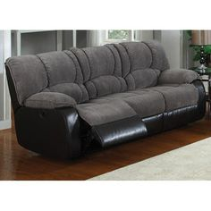 AC Pacific Jagger Reclining Sofa