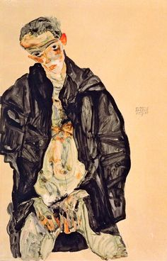 Egon Schiele - Masturbation, 1911