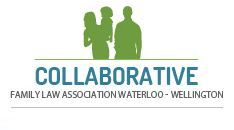 Logo Design Concept for the Collaborative Family Law Association of Waterloo Region and Wellington County.  Part of the www.danipa.com graphic design portfolio