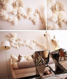 Decorate your walls with paper art! Look at these 5 inspiring DIY ideas from origami and paper cups to lanterns and fans. You will love the inspirational ideas.