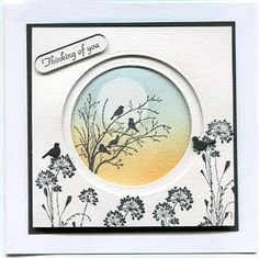 Stampin' Up! Serene Silhouettes with Circles Card Making Inspiration, Making Ideas, Stampin Up, Serene Silhouettes, Cardio Cards, Bird Cards, Stamping Up Cards, Watercolor Cards, Sympathy Cards