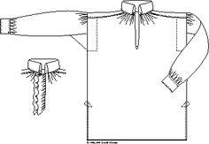 Man's Shirt - 1790-1830