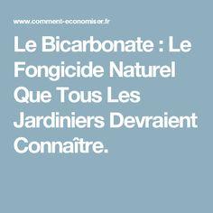 Le Bicarbonate : Le Fongicide Naturel Que Tous Les Jardiniers Devraient Connaître.