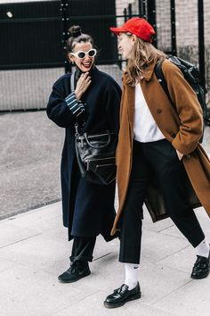LFW Street Style II | Collage Vintage... - Fall-Winter 2017 - 2018 Street Style Fashion Looks