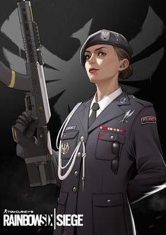 Rainbow Six Siege Dokkaebi, Rainbow 6 Seige, Tom Clancy's Rainbow Six, Rainbow Art, Anime Military, Military Art, Rambo 6, R6 Wallpaper, Character Art