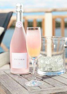 Drinktips - Victoria Rosé Hallon Bellini