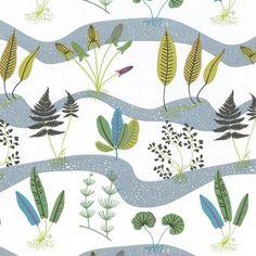 Kinnamark Fräken Swedish Fabric -HUS & HEM- Scandinavian Design For The House And Home (£24.00) - Svpply