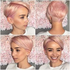 """3,462 Likes, 42 Comments - ShortHair  PixieCut  Fashion (@nothingbutpixies) on Instagram: """"Give me one word @thisgirlmichele on @sarah_louwho cut. """""""
