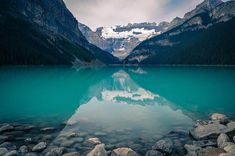 Reflections at Lake Louise Banff National Park  .  .  .  PRINTS AVAILABLE  .  .  .  #photography #landscapephotography #landscape #print #photographyprint #etsy #etsyfinds #etsyseller #Banff #lakelouise #nationalpark